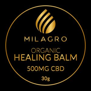 Milagro CBD Organic Healing Balm 500mg