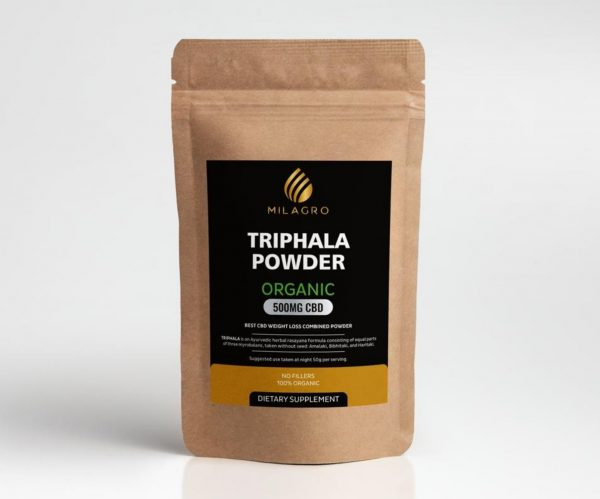 triphala Organic 500mg CBD Powder