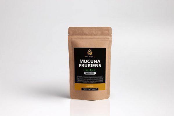 Mucuna Pruriens 500mg CBD Powder