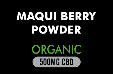 Maqui Berry Powder organic 500mg CBD