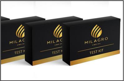 Milagro CBD Test Kit (Know your CBD oils)