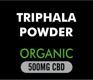 Trhiphala Powder Organic 500mg CBD