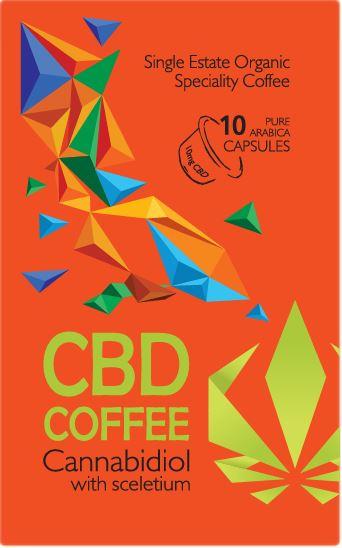 Nagaland Nespresso Coffee Capsules - Cannabidiol with Sceletium - 10mg 1